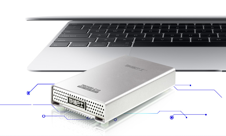 Datage 2.5INCH USB3.1 TYPE-C Enclosure For SSD/HDD/MSATA/M.2