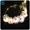 Light Garland With Artificial Flower Wholesale