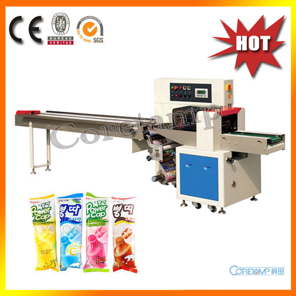 Automatic Ice Lolly Flow Wrapping Machine