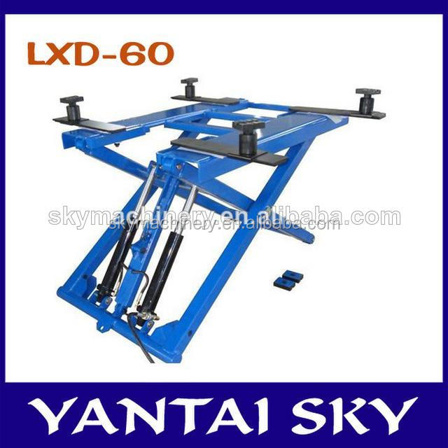 China Alibaba car lift ramp/mini lift/auto car lift used
