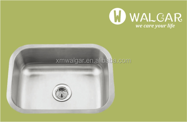 Popular Single Bowl Rectangular Stainless Steel Undermount KitchenSinks Wholesale