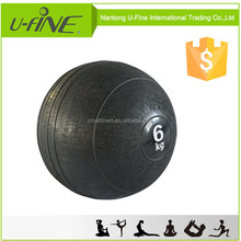 Black Gym Sand Filled Weight Ball