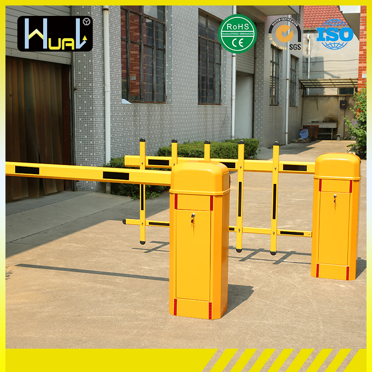 access control system mechanical arm barriers