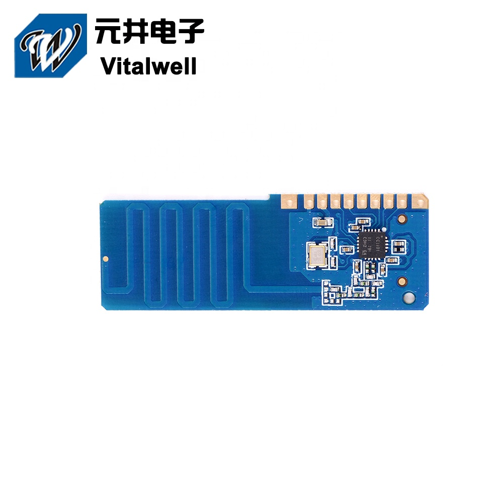 VW1101M-8-A +1.8V~+3.3V 868mhz wireless spi receiver <strong>module</strong>