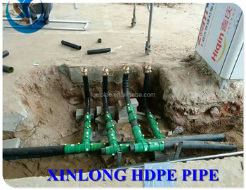 Portable petrol pipe pe for fuel station factory