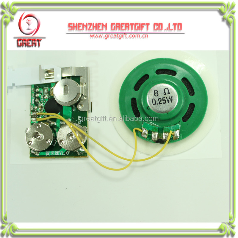 custom greeting card sound module,greeting card programmable sound module recordable sound module for greeting cards