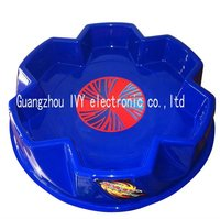 new beyblade arena 144pcs/lot blue arena Beyblade Arena top toy stadium