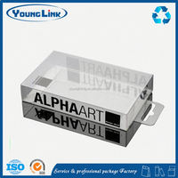 wholesale clear plastic small square pvc boxes