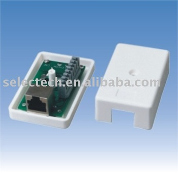 Rj45 cat6 keystone jacke Type Data Boxes SE-NE-53