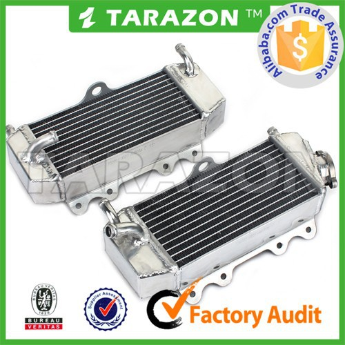 CNC machined high quality motocross radiators for yzf250