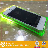 Wholesale Transparent Soft Tpu Cover Crystal Case for Iphone 5/5s