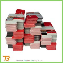 Shenzhen Tianbao cheap printed Folding paper box