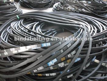 Rubber belt long inch type B section