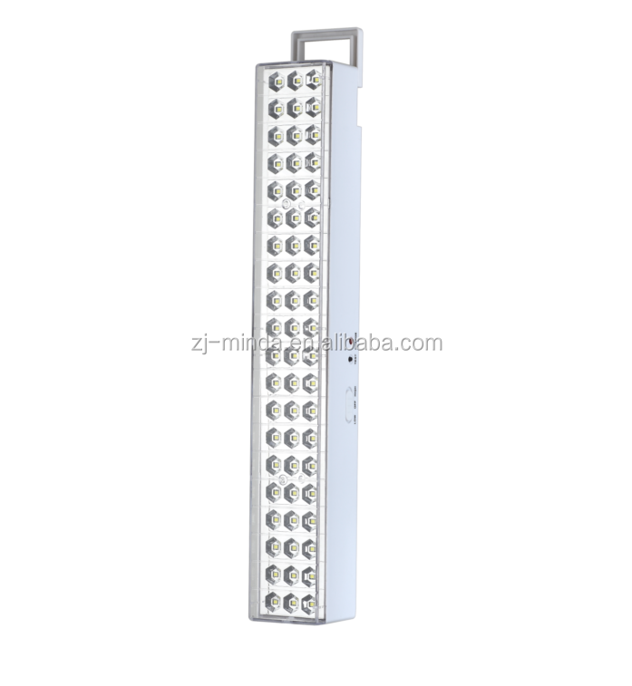 MINDA MD876B-60S PORTABLE HANGING RECHARGEABLE 60PCS WHITE SMD LED WALL MOUNT EMERGENCY MINDA LIGHT