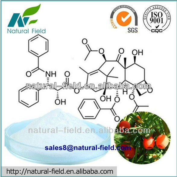 Offer High quality plant extract - Taxus Extract Paclitaxel Taxol Powder 99% by HLPC