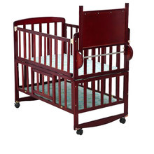 Good quality infant carrier safety wooden baby swing bed cot dimensions