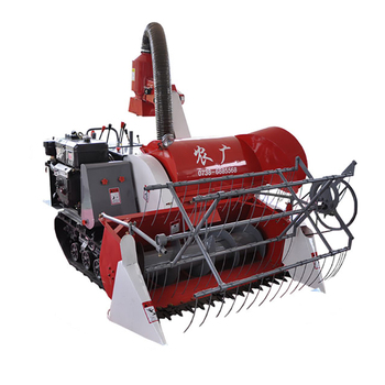 Mini Harvester Grain Cutter Rice Wheat Reaper Binder Machine
