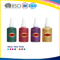 Bulk color glitter for puffy paint wholesale