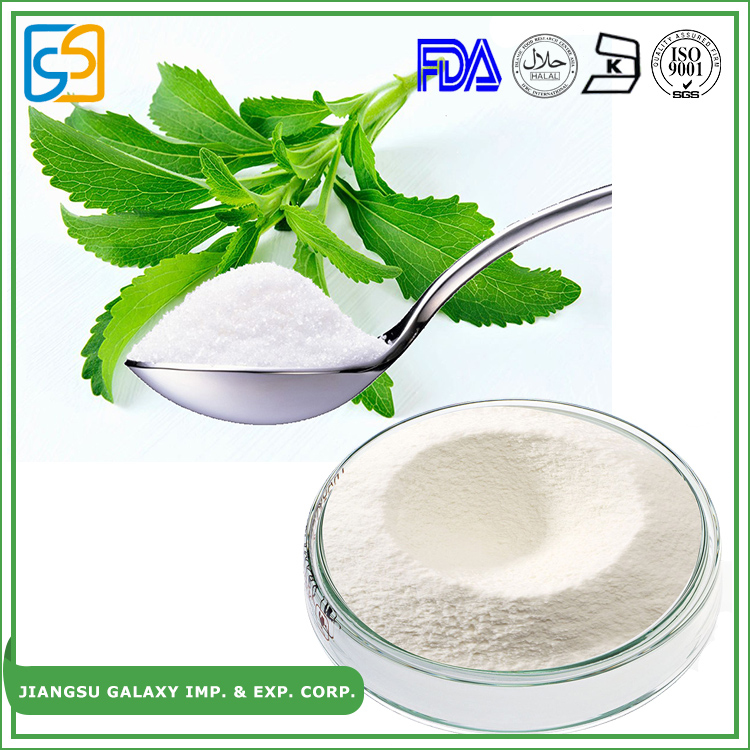 Free sample rebaudioside a sugar free sweetener stevia plant extract