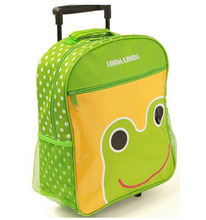 colourful child travel trolley luggage bag,travel trolley luggage bag children, fashion school bag trolley