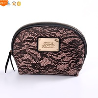 Vintage Soft Genuine Leather Makeup Case Leather Small Bag Cosmetic Make up Leather Pouch