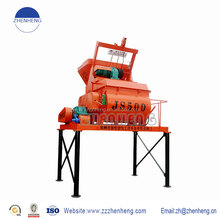 Twin shaft mini cement mixer from leading supplier in Xingyang, hometown of concrete machinery