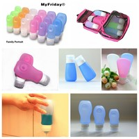Silicone Shampoo Bottle Silicone Collapsible Bottle travel containers for cosmetics
