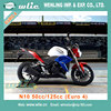Eec best selling new design Euro 4 & COC Racing Motorcycle (N10 50cc, 125cc)