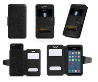 Alibaba Cheap Price 4.5 Inch Leather Universal Phone Case For 4.3-4.8 Inches cellphone cover