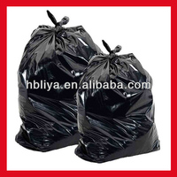 big disposable black trash bags