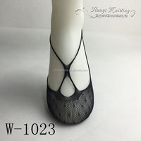 Lady fancy lace invisible shoe liner socks