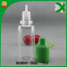 15ml childproof tamper evident dropper bottle with dropper tip ISO8317 SGS TUV