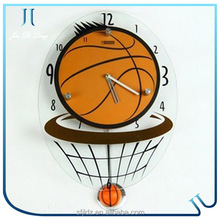Fashion ball design wall clock digital clock