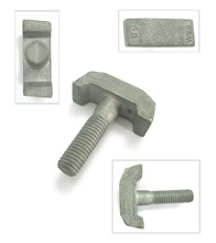T bolts / hammer head handle railway special T bolt