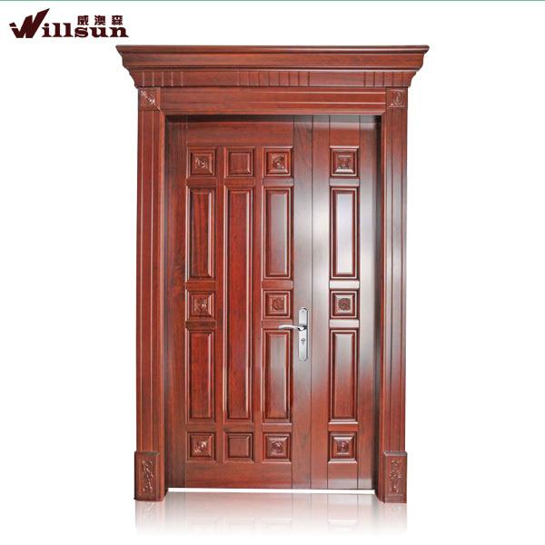 Utiliza las puertas exteriores para la venta de la puerta for Disenos de puertas de madera para exterior