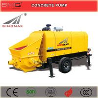 60, 80m3/h Diesel Trailer Concrete Pump, Stationary Concrete Pump for sale, China Top Quality