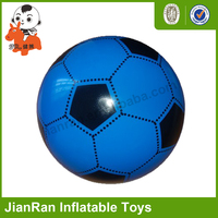 Non-toxic soft plastic inflatable soccer ball toy