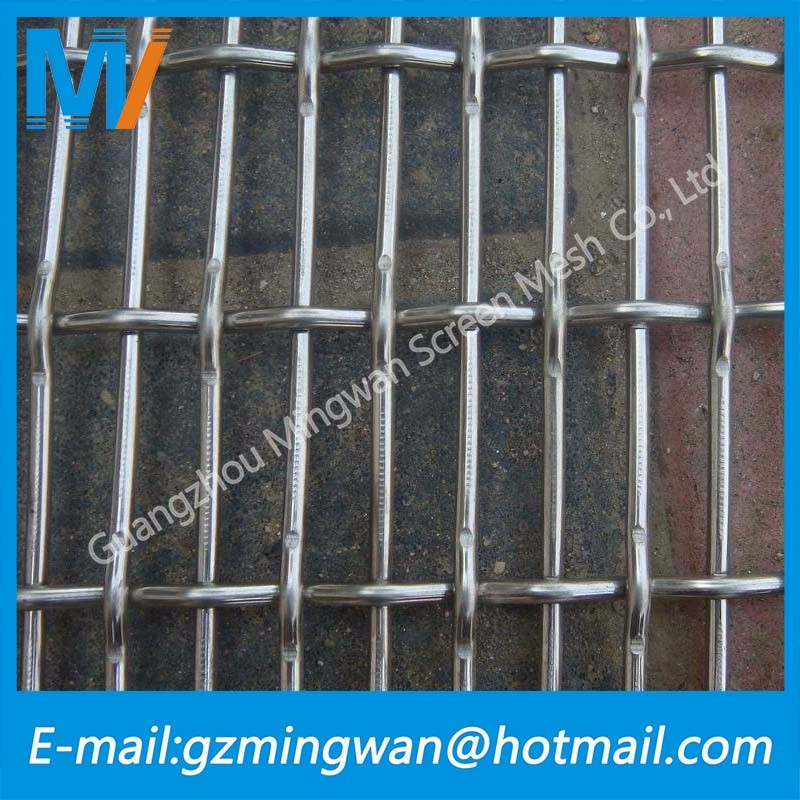 Hot dipped galvanized fence Crimped Welded Wire Mesh