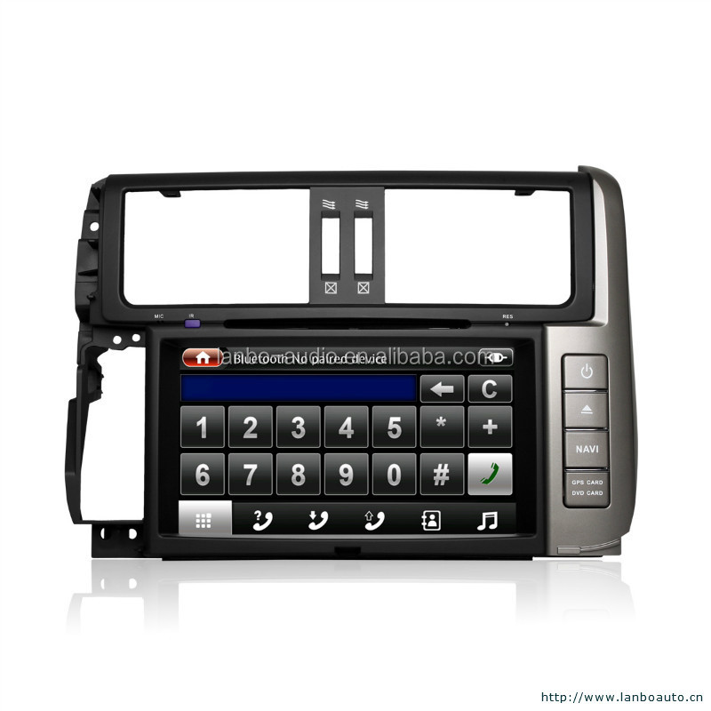 Car dvd gps toyota corolla 2014 with max power 4*50W