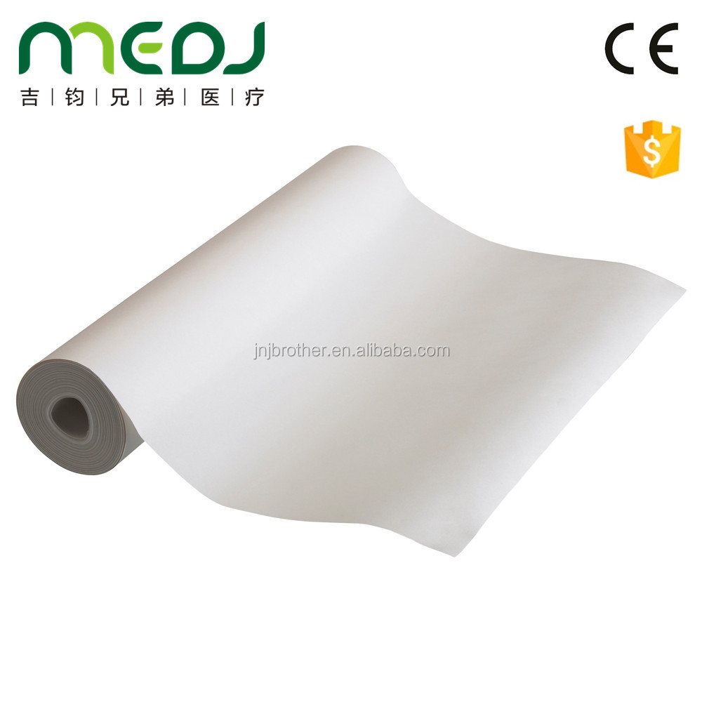 Disposable medical anti infection bed sheet roll
