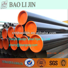 carbon steel pipe black lacquer for low pressure fluid service