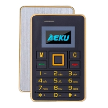 mini cheap original phone in stock AEKU K5 Card Mobile Phone 2G 3G free shipping