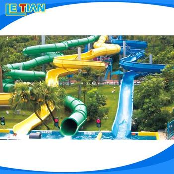 Professional long water slide for sale