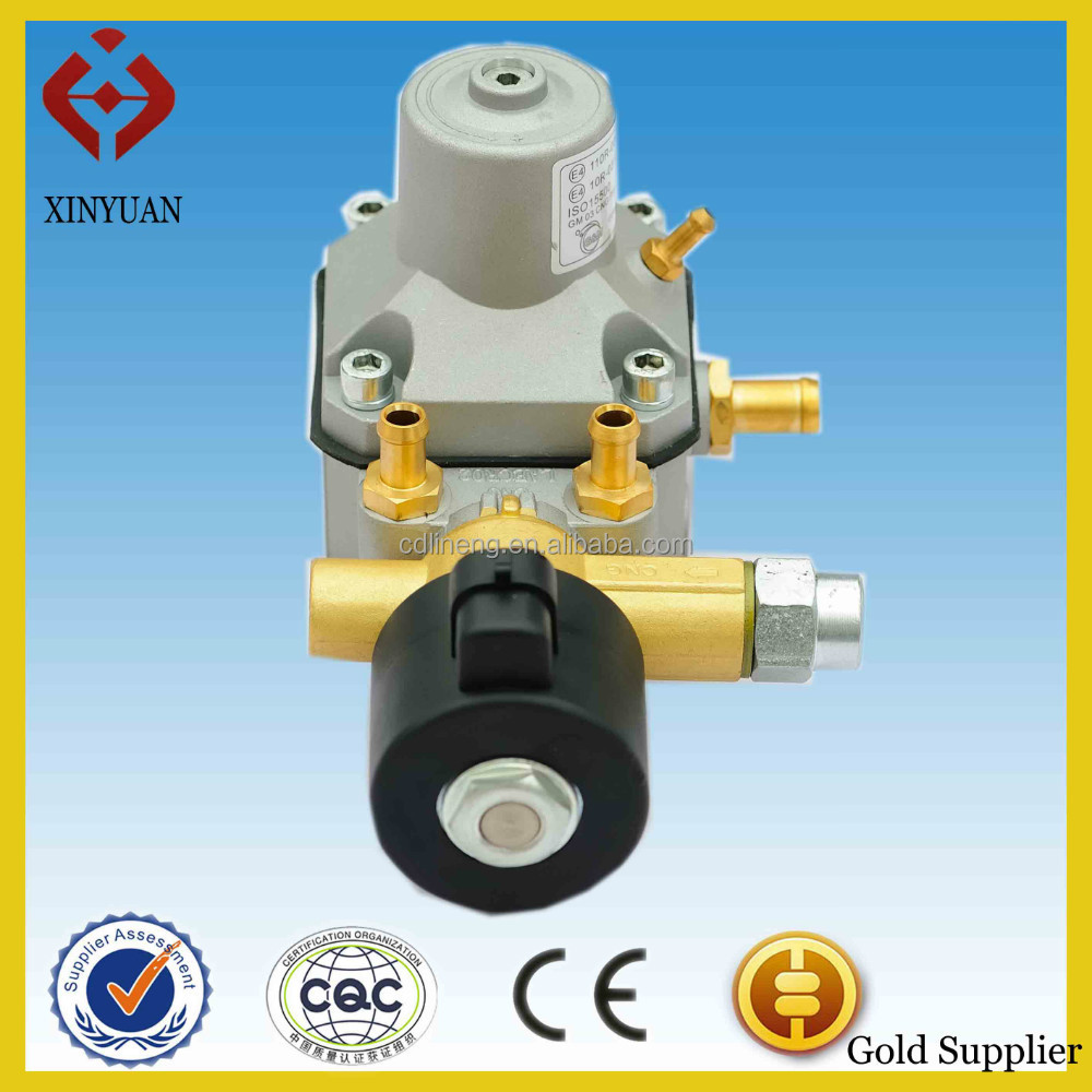 LPG clean fuel cng gas regulator/reducer suit LPG