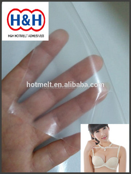 Transparent TPU Film / High Quality Tpu Film For Sew-free Bras