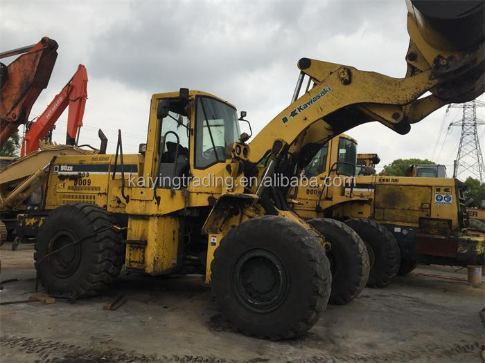 KLD90Z KLD90N 90ZIV High Quality Japan Original Cheap Price Kawasaki Used Wheel Loader