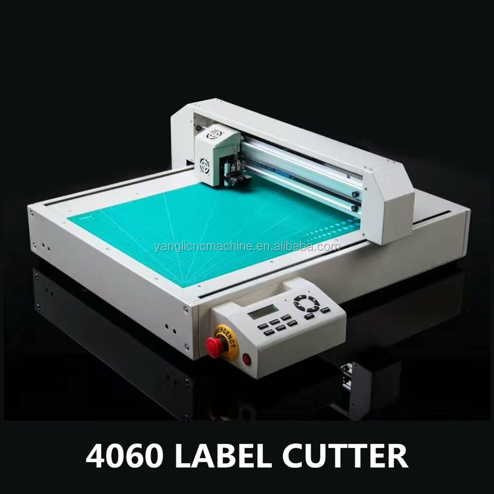 Automatic contour cuting flatbed cutter & creaser