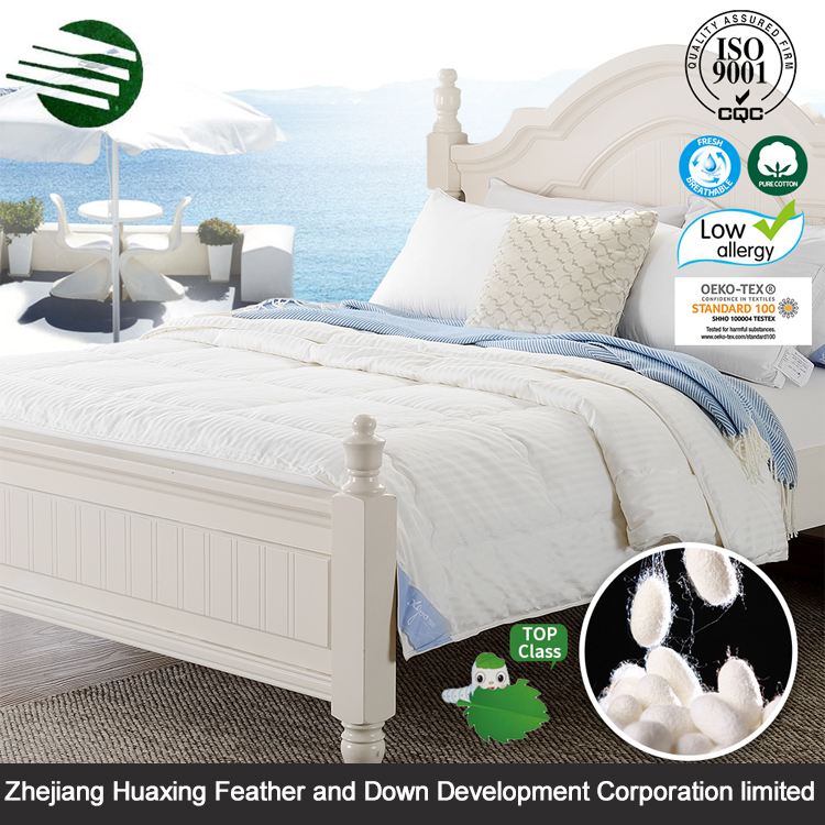 Popular Wholesale Comfortable Luxury Polyester Filled Thin Comforter For Summer
