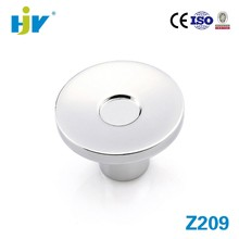 Most popular zinc alloy round small mini furniture drawer knobs
