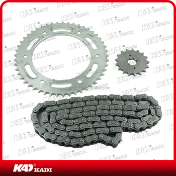 motorcycle chain and sprocket kit XR150L motocycle spare part